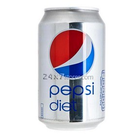 Pepsi  Diet Pepsi Soft Drink  500 ml