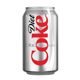 Coca Cola  Diet Coke Soft Drink  300 ml