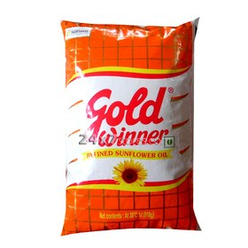 Gold Winner Refined Sunflower Oil 1 lt