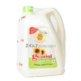 Gemini Refined Sunflower Oil 5 lt