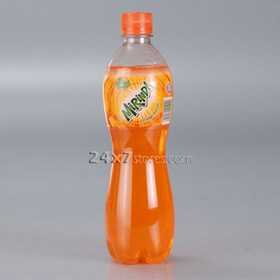 Mirinda  Soft Drink Orange Flavour  600 ml