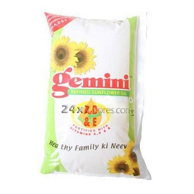 Gemini Refined Sunflower Oil 1 lt