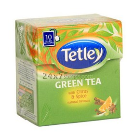 Tetley  Tea Bag- Green Tea With A...  10 nos