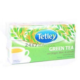 Tetley  Green Tea with Ginger, Mi...  30 nos