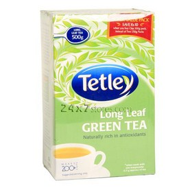 Tetley  Long Leaf Green Tea  500 gm