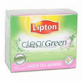 Lipton  Clear Green Tea Jasmine B...  10 nos