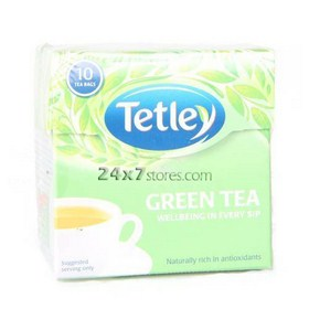 Tetley Green Tea Bags 10 nos - Pack of 10