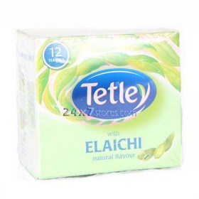 Tetley Elaichi Tea Bags 12 nos - Pack of 12