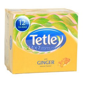 Tetley Ginger Tea Bags 12 nos - Pack of 12