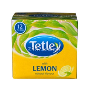 Tetley Lemon Tea Bags 12 nos - Pack of 12