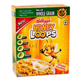 Kelloggs Honey Loops 125 gm