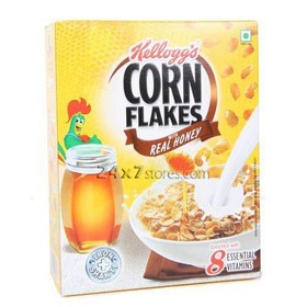 Kelloggs Real Honey Flakes Breakfa... 125 gm