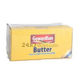 Gowardhan Pasteurised Table Butter 500 gm