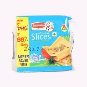 Britannia Cheese Slice Processed Ch... 200 gm