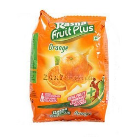 Rasna Fruit Plus Orange 200 gm