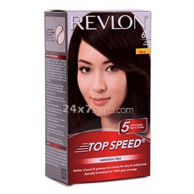 Revlon  Top Speed 65 Dark Brown  140 gm