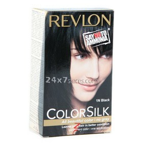 Revlon  Color Silk Black 2 nos  40 ml