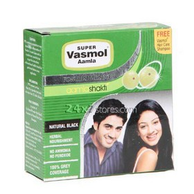 Super Vasmol  Amla Powder Hair Dye  5 gm * 6