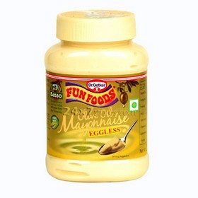 Fun Foods Olive Oil Mayonnaise - Eg... 275 gm