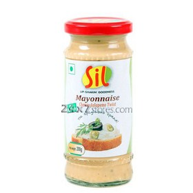 Sil Mayonnaise Cheesy Jalapen... 200 gm