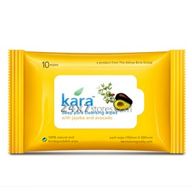 Kara  Deep Pore Cleansing Wipes...  10 nos