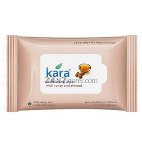 Kara  Moisturizing Wipes With H...  10 wipes