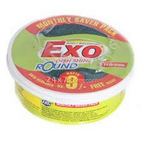 Exo Dish Shine - Round, 500 gm Box