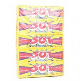 501.0  Dishwash Bar Soap  213 gm - Pack of 10