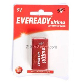 Eveready  Ultima Alkaline Battery  9 V
