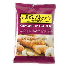 Mothers Recipe Ginger & Garlic Paste 100 gm