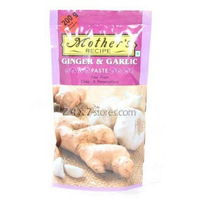 Mothers Recipe Ginger & Garlic Paste 200 gm