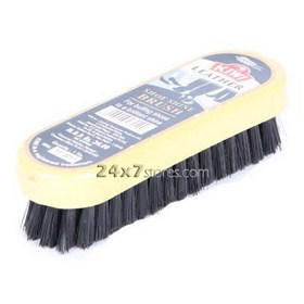 Kiwi  Leather Shoe shine Brush  1 pc