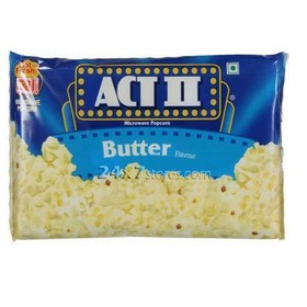 Act II Butter Microwave Popcorn 85 gm