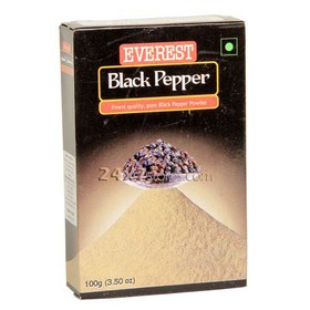 Everest Black Pepper - Pure Black... 100 gm