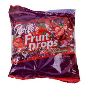 Parle Fruit Drops Strawberry Pu... 380 gm