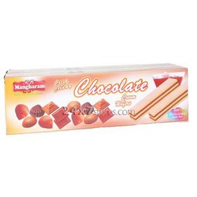 Mangharam Chocolate Cream Wafers 150 gm - Pack of 2