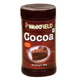 Weikfield  Cocoa Powder  200 gm
