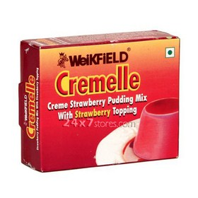 Weikfield  Cremelle - Cr?me Strawber...  65 gm