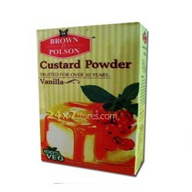 Brown & Polson  Custard Powder - Vanilla  500 gm