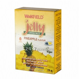Weikfield  Jelly Crystals Pineapple ...  90 gm