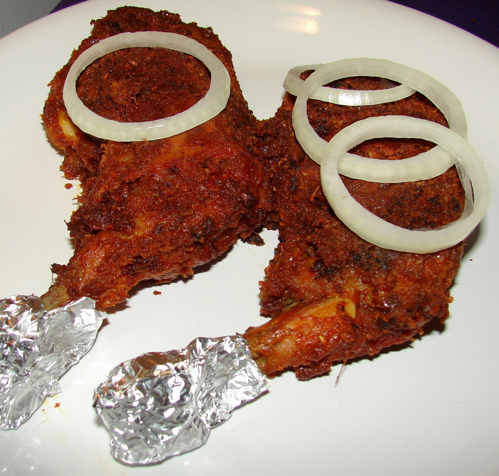 Tandoori Chicken 2nos
