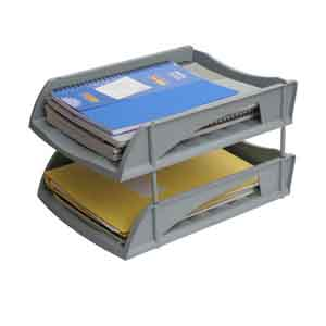 2 Compartments Tray (Grey) Delivery 6 work days