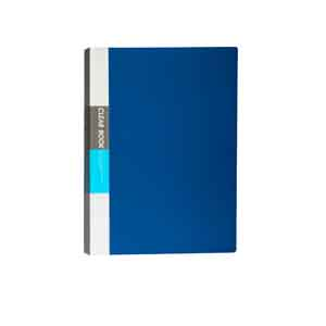 Bindermax Polypropylene Display Book (Set Of 2, Blue) Delivery 6 work days