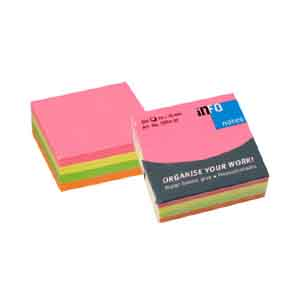 Info 320 Sheets Post-its Sticky Note, 4 Colors (Set Of 2) Delivery 6 work days