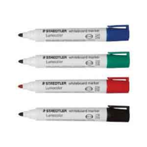 Staedtler Lumo Bullet Tip Whiteboard Markers (Set of 4) Delivery 6 work days